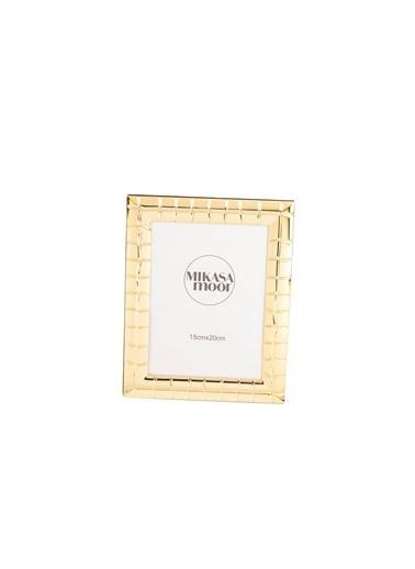 Mikasa Moor Gold İnce Çizgi Çerçeve 15x20cm Altın